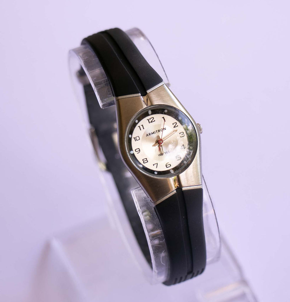 Silver-tone Water Resistant Ladies Wristwatch