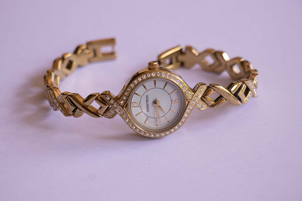 Gold-tone Armitron Women's Watch