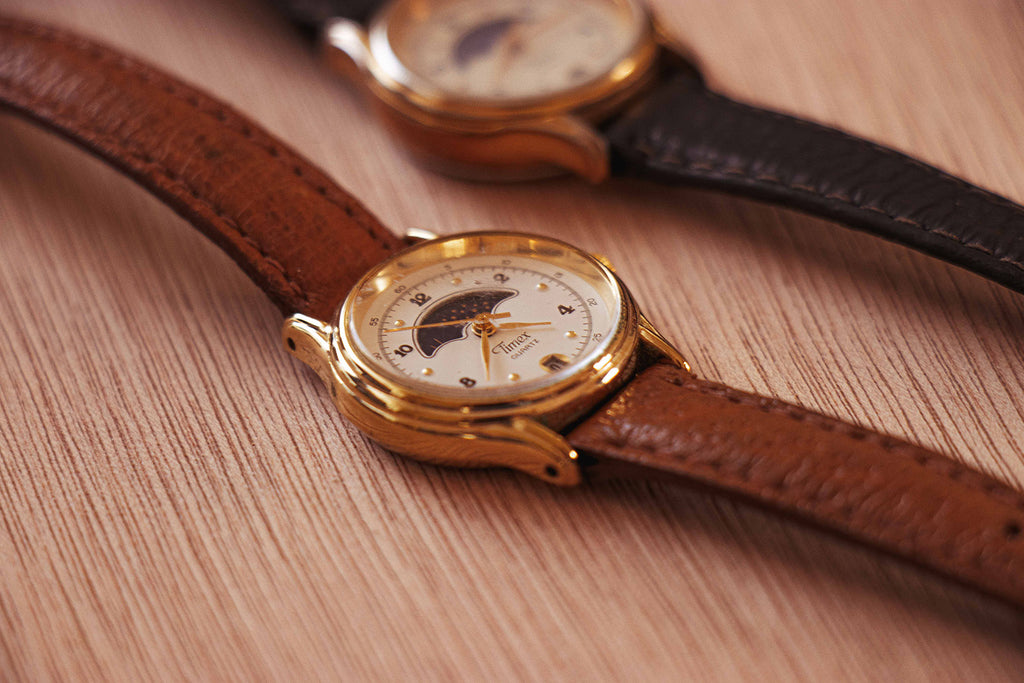 Timex Moonphase Vintage Watch