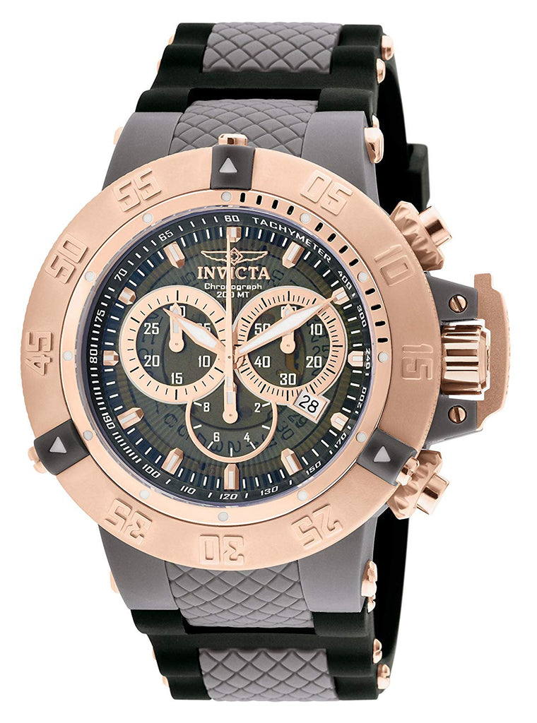 Envicta Men's 0932 Anatomic Subaqua Collection Chronograph Watch