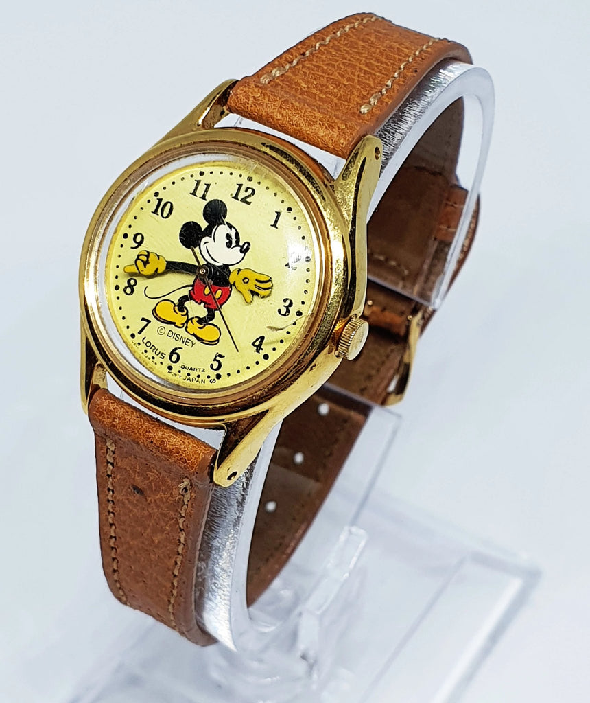 Lorus Mickey Mouse Watch v515 6128  HR - @ Disney - Small Variation