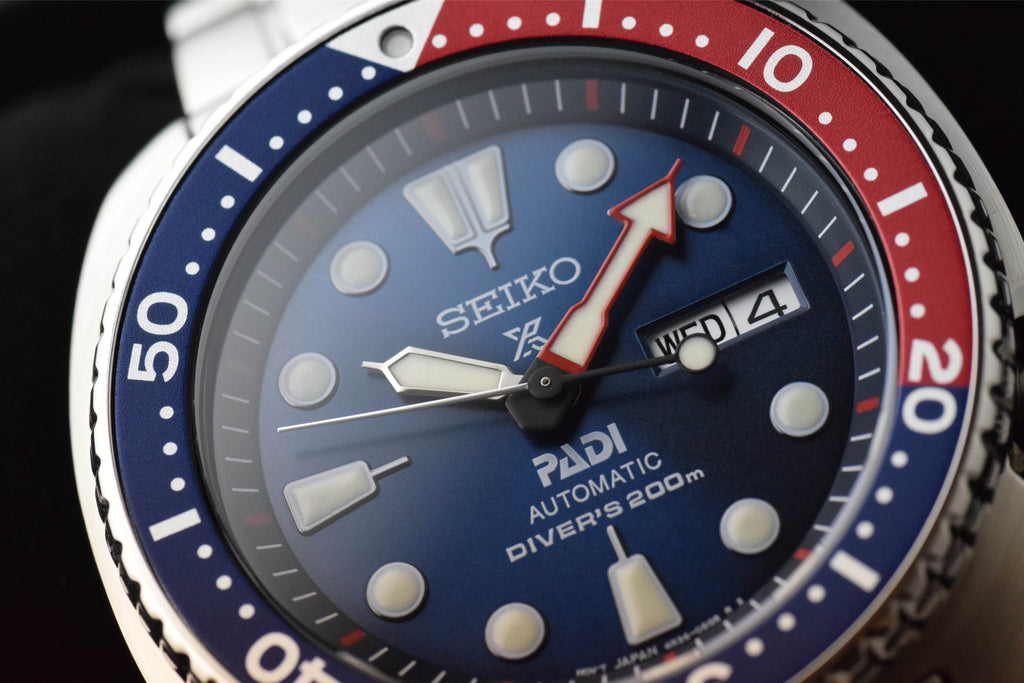 Seiko Men's SRPA21 Prospex X Padi Analog Hand and automatic