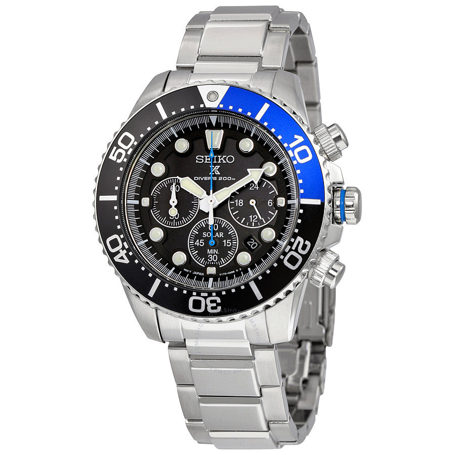 Seiko Men's SSC017 Prospex Chronograph Watch