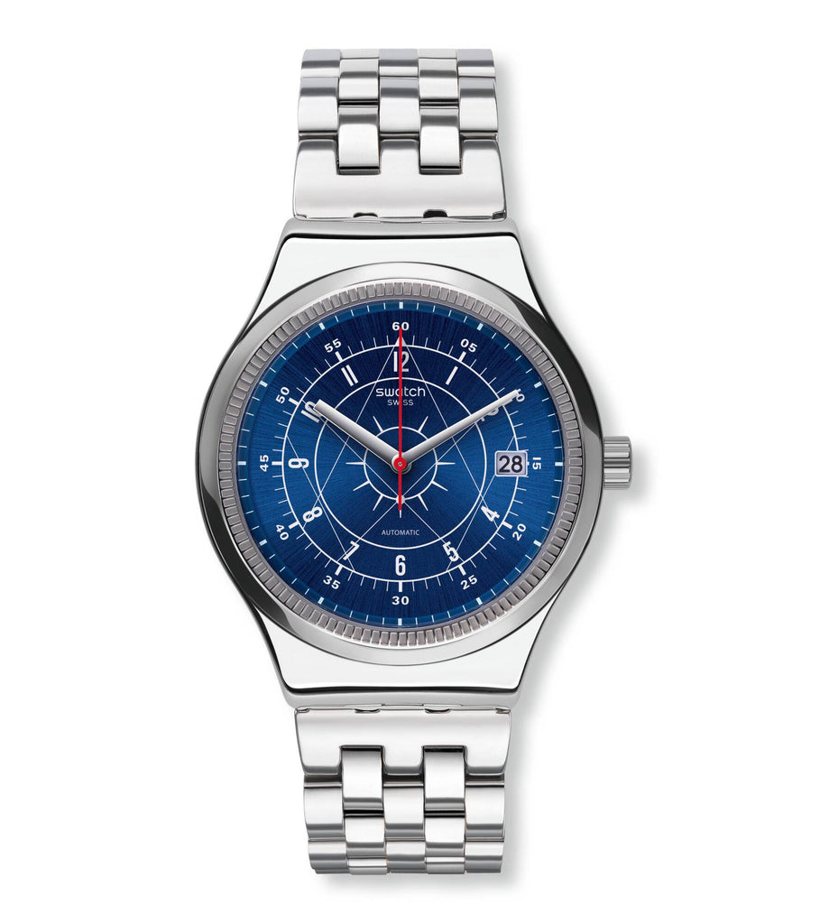 5.Swatch YIS401G Sistem51 Irony Sistem Boreal men's automatic watch | VintageRadar.com