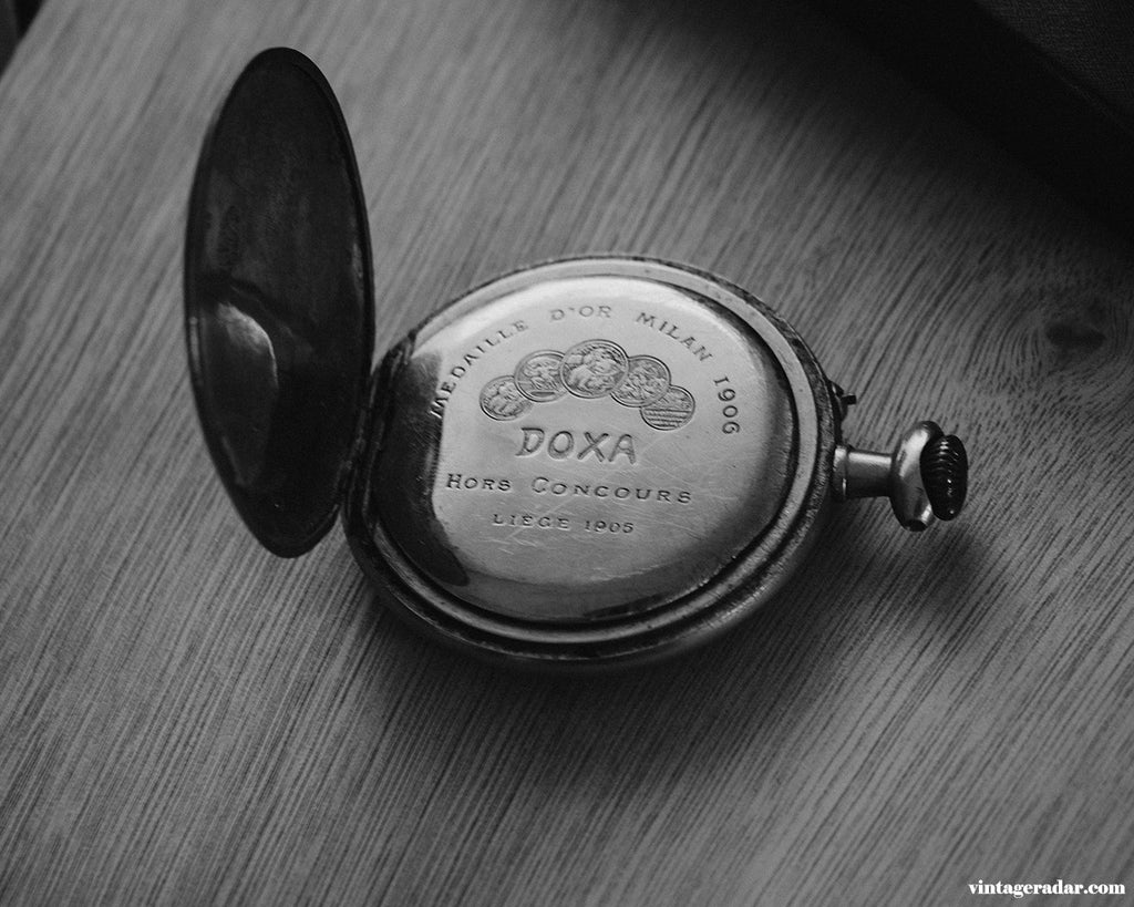 Vintage RARE Doxa Pocket Watch