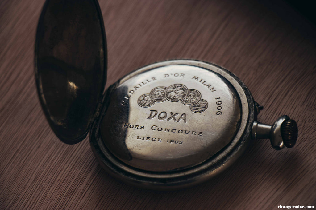 Doxa Vintage Pocket Watch