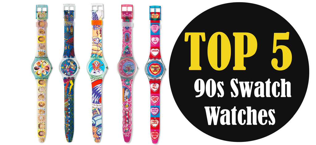 top 5 90s vintage swatch watch