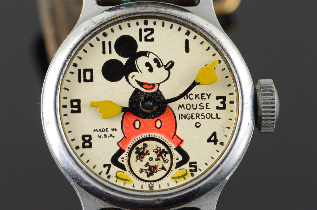Ingersoll Mickey Mouse 1950s Watch
