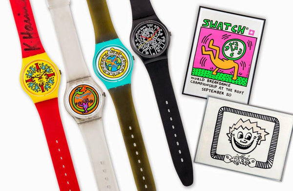 Keith Haring Swatch Collection