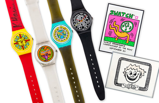Keith Hering Swatch Collection
