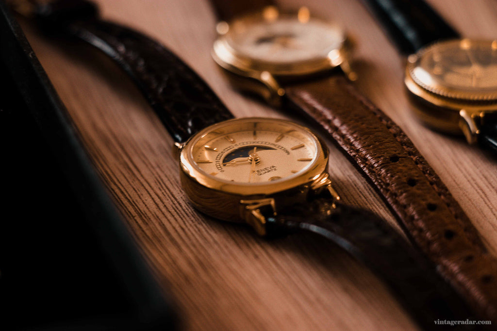 Vintage Moon Phase Watch Collection