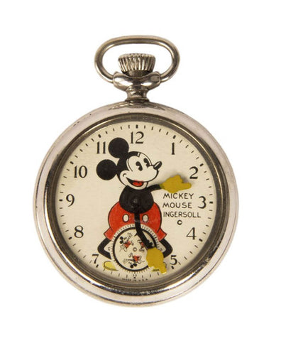 1930s Ingersoll Mickey Mouse Pocket Watch