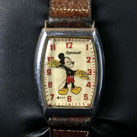 Vintage Ingersoll Mickey Mouse watch
