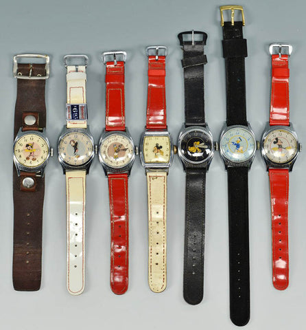 Vintage Mickey Mouse watches
