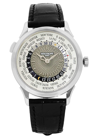百达翡丽Complications 18K White Gold Automatic Mens Watch 5230G-001