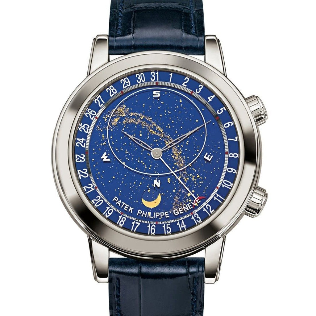 Patek Philippe Grand Complications Mechanical (Automático) Blue Dial Mens Watch 5102G-001 (Certified Pre-Owned)