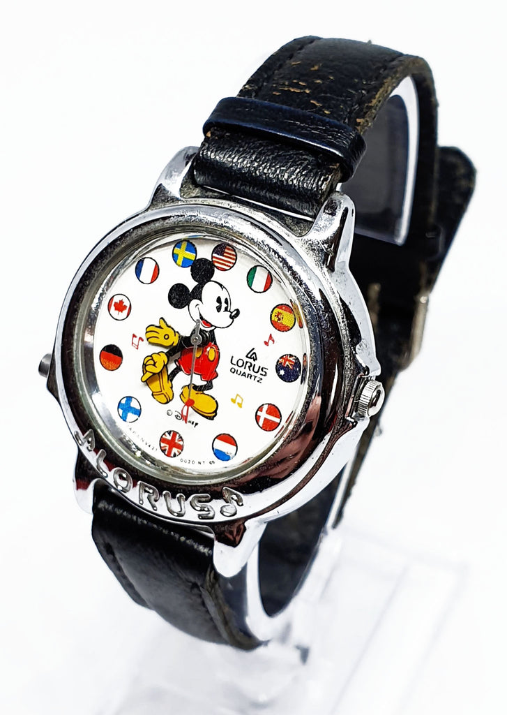 Mickey Mouse Lorus Vintage Watch
