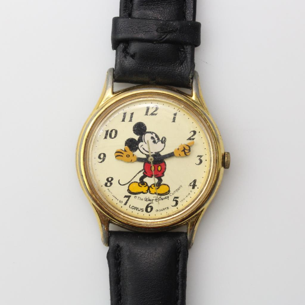 Vintage Lorus Mickey Mouse Watch
