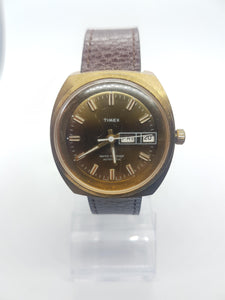 Rare Mechanical Gold-Tone Timex, Vintage Wristwatch - Vintage Radar