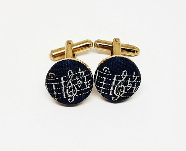 Musical Vintage Set of Cufflinks | Wedding Collection - Vintage Radar