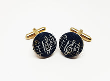 Load image into Gallery viewer, Musical Vintage Set of Cufflinks | Wedding Collection - Vintage Radar