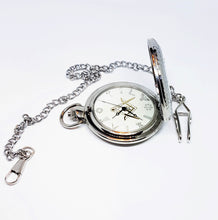 Load image into Gallery viewer, Freemason Silver-tone Vintage Pocket Watch | Can Be Engraved - Vintage Radar