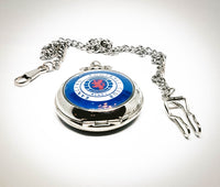 Rangers Football Club Pocket Watch | Can Be Engraved - Vintage Radar
