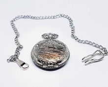 Load image into Gallery viewer, Vintage Train Pocket Watch | Can Be Engraved - Vintage Radar