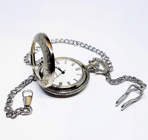Bohemian Floral Pocket Watch | Can Be Engraved - Vintage Radar