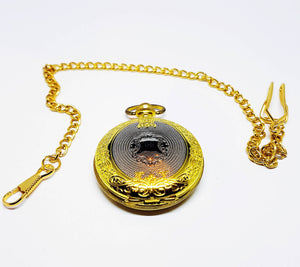 Victorian Two-tone Vintage Pocket Watch | Can Be Engraved - Vintage Radar