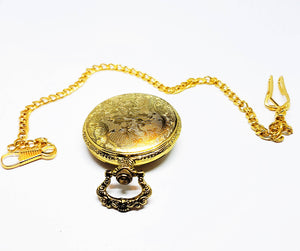 Golden Eagle Vintage Pocket Watch | Can Be Engraved - Vintage Radar