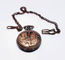 Load image into Gallery viewer, Rose Gold Paris Vintage Pocket Watch | Can Be Engraved - Vintage Radar