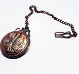 Rose Gold Paris Vintage Pocket Watch | Can Be Engraved - Vintage Radar