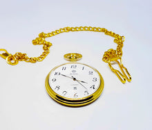 Load image into Gallery viewer, Gold-tone Pocket Watch Royal London | Vintage Pocket Watch - Vintage Radar