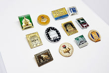 Load image into Gallery viewer, Soviet Vintage Enamel Pins | Enamel Lapel Pins | Set 1 - Vintage Radar