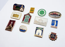 Load image into Gallery viewer, Soviet Vintage Enamel Pins | Enamel Lapel Pins | Set 2 - Vintage Radar