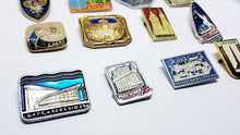 Load image into Gallery viewer, Soviet Vintage Enamel Pins | Enamel Lapel Pins | Set 3 - Vintage Radar