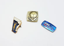Load image into Gallery viewer, Soviet Vintage Enamel Pins | Enamel Lapel Pins | Set 15 - Vintage Radar