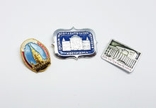 Load image into Gallery viewer, Soviet Vintage Enamel Pins | Enamel Lapel Pins | Set 20 - Vintage Radar
