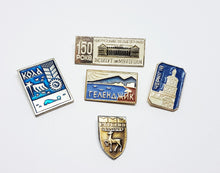 Load image into Gallery viewer, Soviet Vintage Enamel Pins | Enamel Lapel Pins | Set 23 - Vintage Radar