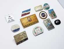 Load image into Gallery viewer, Soviet Vintage Enamel Pins | Enamel Lapel Pins | Set 24 - Vintage Radar