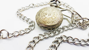 Airin Incabloc Vintage Silver Pocket Watch | French Pocket Watches - Vintage Radar