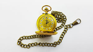 17 Jewels Blazon 1970s Swiss Pocket Watch | 70s Antique Pocket Watch - Vintage Radar
