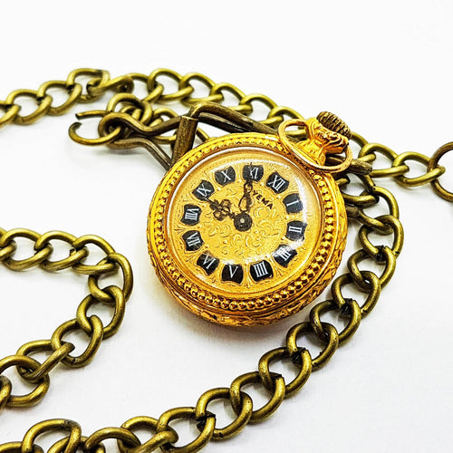 Yema Gold Vintage Pocket Watch | French Pocket Watch - Vintage Radar