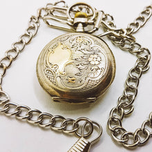 Load image into Gallery viewer, Classic Silver Vintage Pocket Watch | Medallion Watch Collection | Drouard à Ecommoy - Vintage Radar