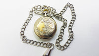 Classic Silver Vintage Pocket Watch | Medallion Watch Collection | Drouard à Ecommoy - Vintage Radar