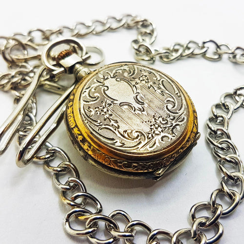 Stunning Victorian Pocket Watch | French Vintage Pocket Watch - Vintage Radar