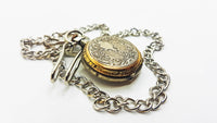 Vintage Mechanical Victorian Pocket Watch | French Art Deco Pocket Watch - Vintage Radar