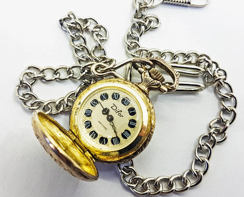 Difor Swiss Pocket Watch | Antichoc Vintage Pocket Watch - Vintage Radar