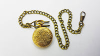 Strato Swiss Vintage Pocket Watch | French Antique Medallion Pocket Watch - Vintage Radar